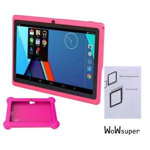 TABLETTE ENFANT  ROSE 7'' tablette tactile bluetooth pour enfant Q