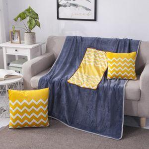 HOUSSE DE COUSSIN 2 en 1 Pliable Coussins oreillers air conditionné
