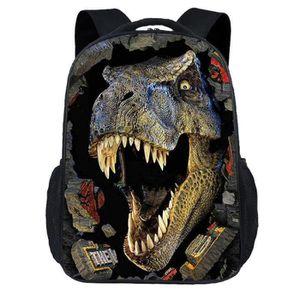Dernier enfant sac à dos dinosaure impression Garçon Cartable Casual Cartable Enfants Cadeau