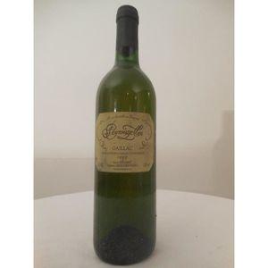 VIN BLANC gaillac peyrouzelles blanc 1993 - sud-ouest france