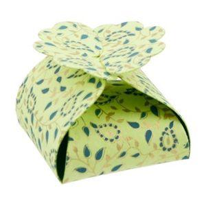 Boîte cadeau Boite en papier Florets Taj 5 pièces Anis - Papert