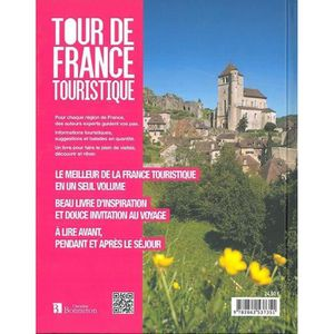 GUIDES DE FRANCE Livre - tour de France touristique ; 1000 sites ch