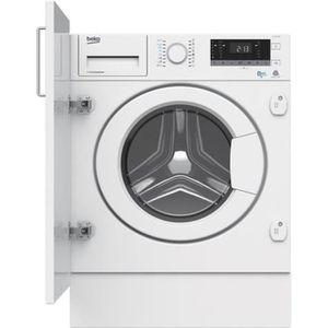 LAVE-LINGE Beko HITV8733B0 Machine à laver séchante intégrabl
