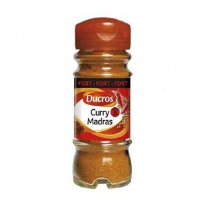 EPICE - HERBE Ducros Curry Mandras Fort 45g (lot de 3)