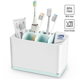 BROSSE A DENTS Luvan Porte-brosses à dent et Tubes de Dentifrice