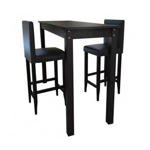 table mange debout noir achat vente table mange debout. Black Bedroom Furniture Sets. Home Design Ideas