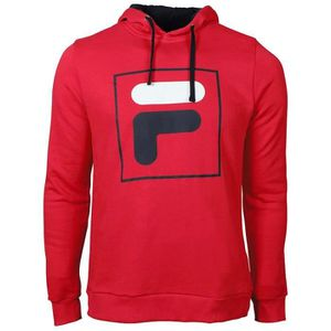 SWEATSHIRT Sweat à Capuche Fila Harry Rouge