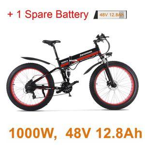 VÉLO PLIANT vélo de neige électrique pliant de 26 pouces, mote