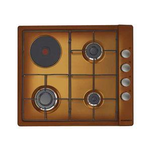 PLAQUE MIXTE Rosieres - table de cuisson mixte 58cm 4 feux marr