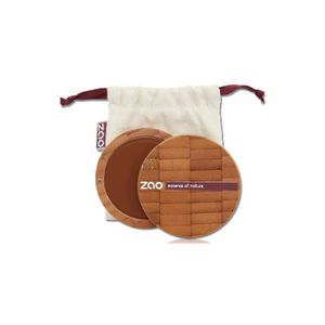 FOND DE TEINT - BASE Fond de teint compact chocolat ZAO 735