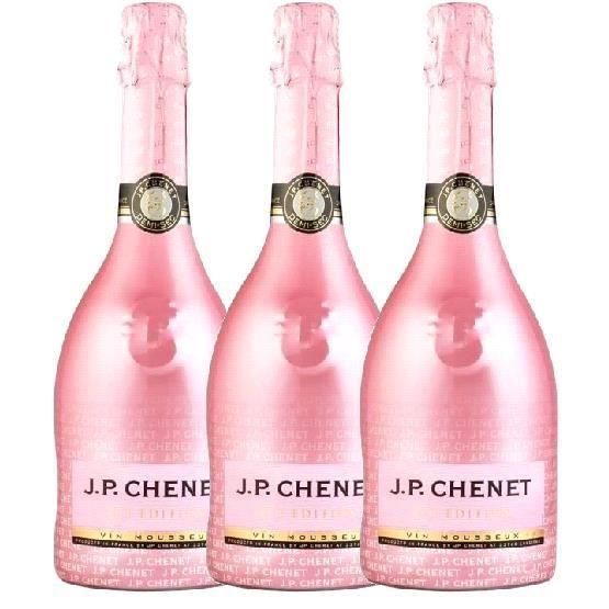 Lot de 3 bouteilles JP Chenet Ice Edition Brut Rosé 75cl