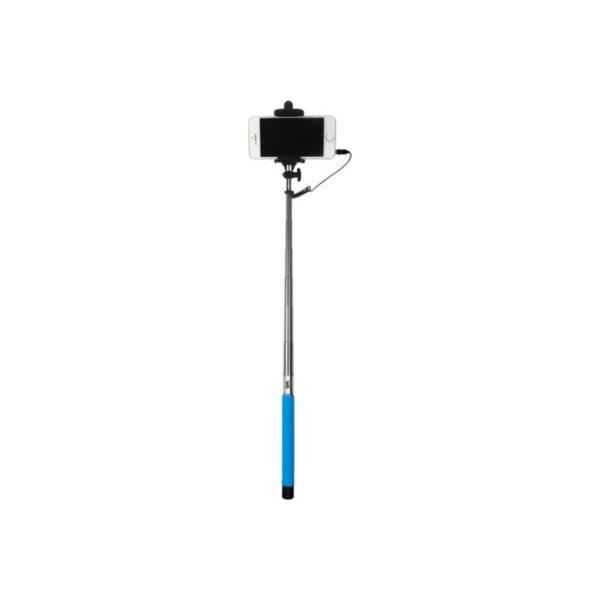 WE Bras Selfie - Longueur 22.5 à 100.5 cm - Compatible IOS 4.0 / Android 3.0 - Bleu