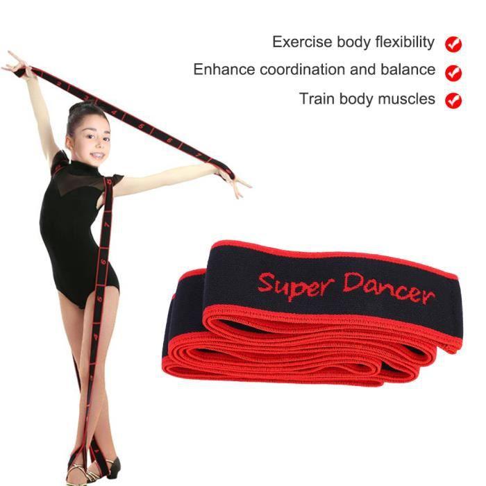 Bandes de Résistance Élastique Fitness Exercice Yoga Pilâtes Gym Sport -RAI