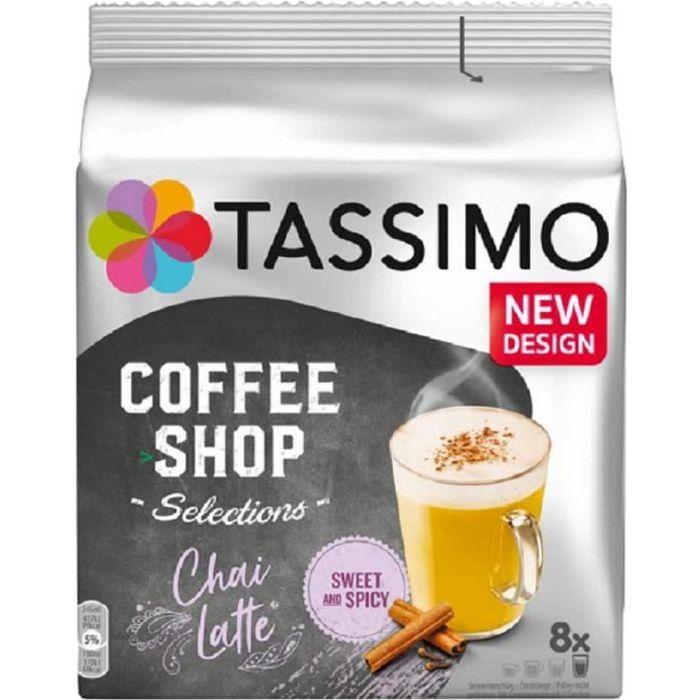 Tassimo Twinings Chai Latte T Discs 16 Discs - 8 Drinks