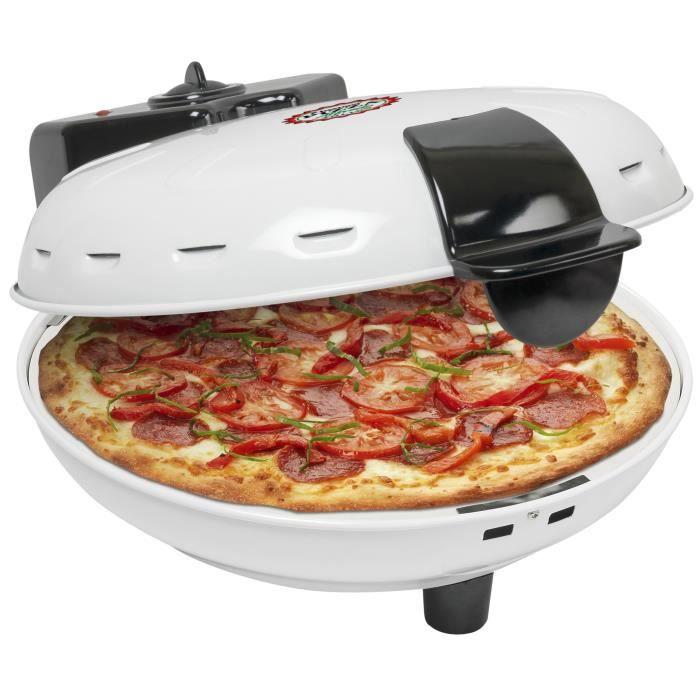 BESTRON DLD9036 Four à pizza - Blanc