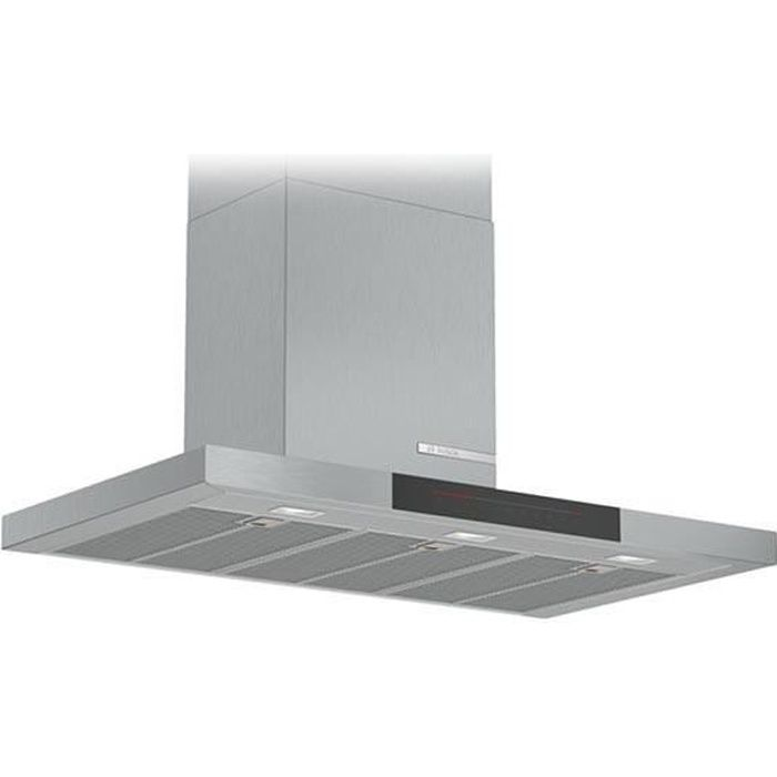 Hotte standard BOSCH DWB98JQ50 90 cm 843 m³/h 160W A+ Acier inoxydable