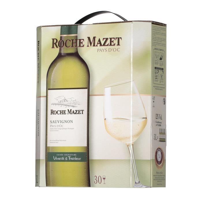 Roche Mazet Sauvignon BIB 3L