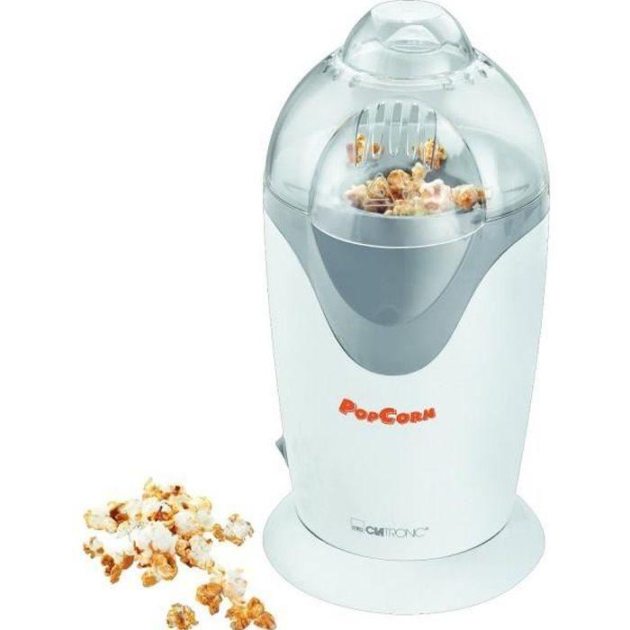 Machine à pop-corn PM 3635 Clatronic (blanc/bleu)
