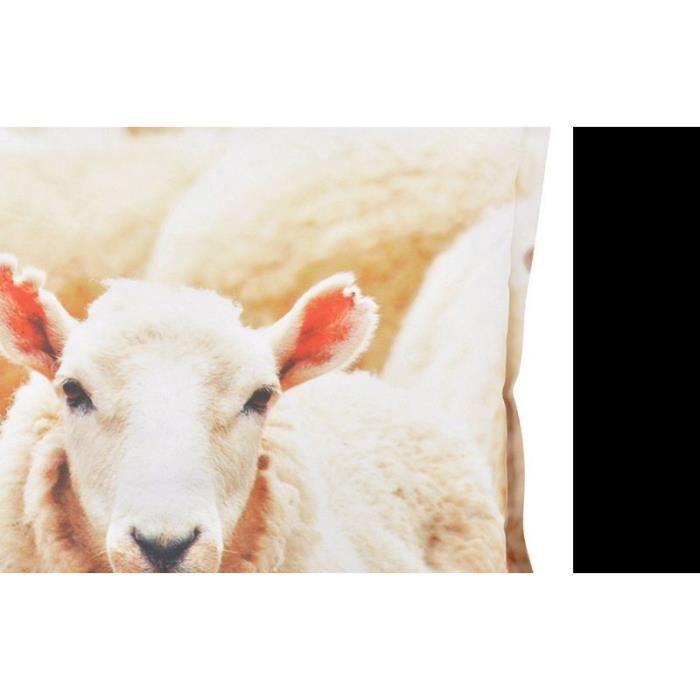 Coussin extérieur imperméable mouton Multicolore