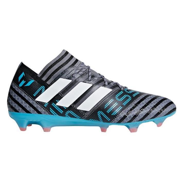Nemeziz Messi 17.1 FG Football Boots - Adult - Grey/White/Black