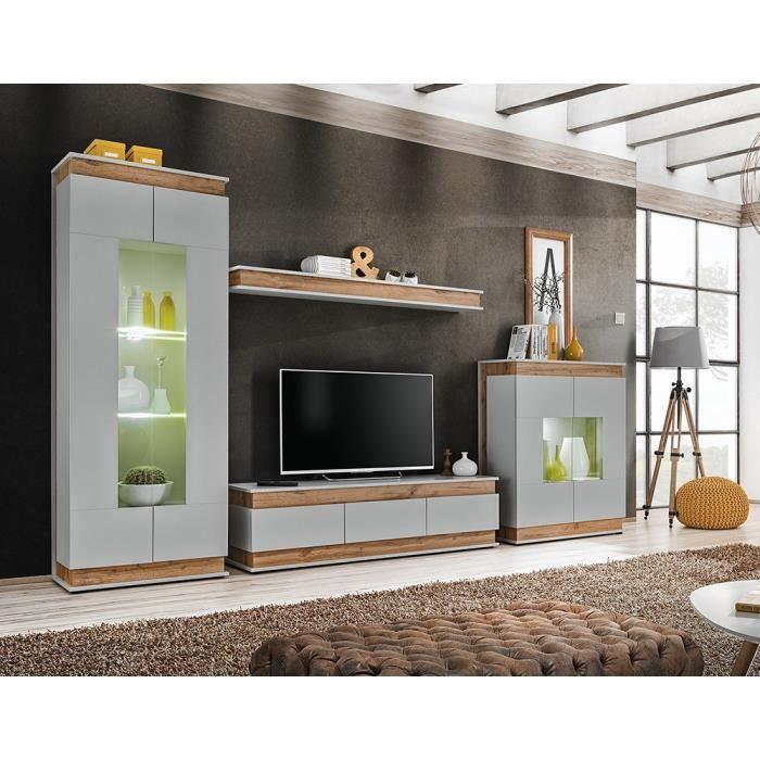 Ensemble de meubles de salon collection MUNICH. Style design. 40 Gris