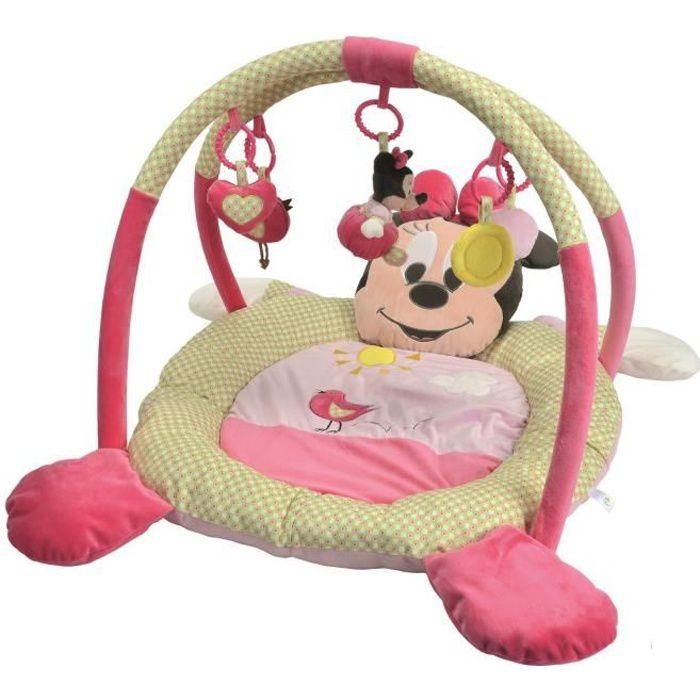 MINNIE Tapis de Jeu avec Sac de Transport - Disney Baby