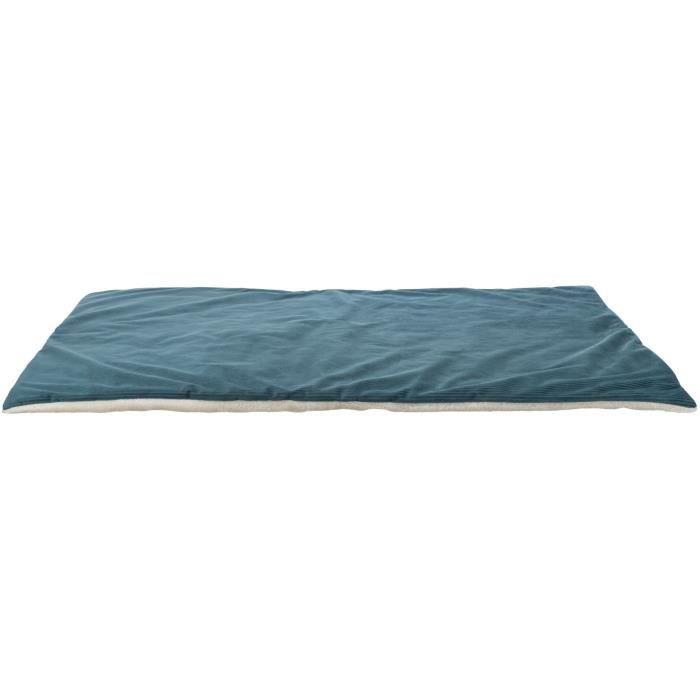 TRIXIE Couverture Lupo - 100 × 70 cm - Pétrole et crème - Pour chien