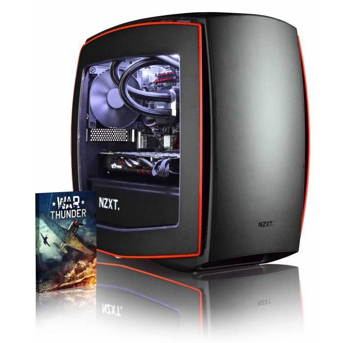 Vibox Atom Rl770 75 Pc Gamer Ordinateur avec Jeu Bundle (4,7Ghz Intel i7 6 Core Coffee Lake Processeur, Msi Radeon Rx 570 Carte Grap