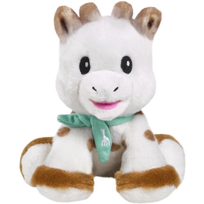 Sophie la girafe - Peluche Bébé Sophie 14 cm