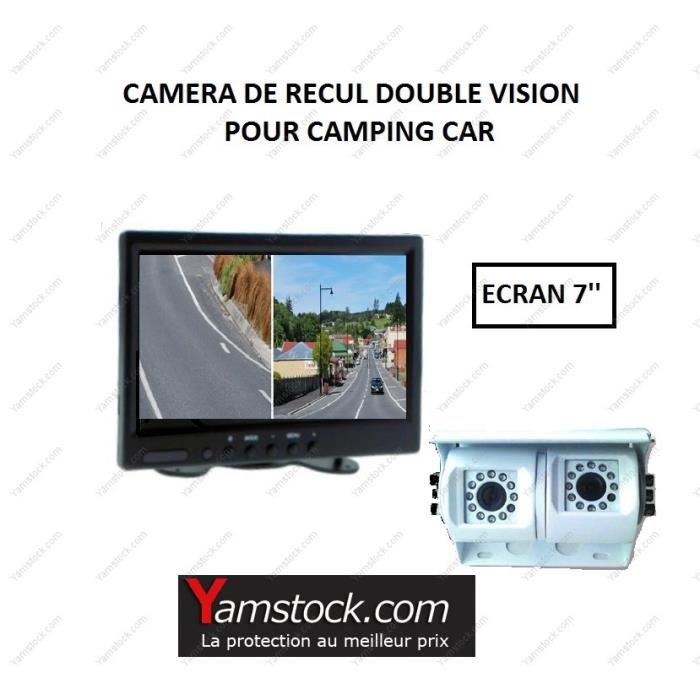 pack camera de recul double objectif cran 7 39 achat vente radar de recul pack camera de. Black Bedroom Furniture Sets. Home Design Ideas