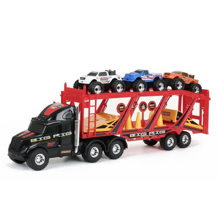 camion transporteur achat vente jeux et jouets pas chers. Black Bedroom Furniture Sets. Home Design Ideas