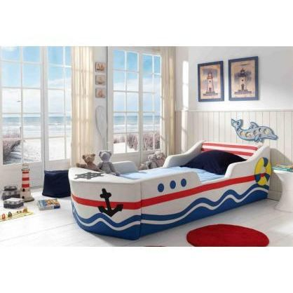 lit enfant bateau neptune achat vente lit complet lit. Black Bedroom Furniture Sets. Home Design Ideas