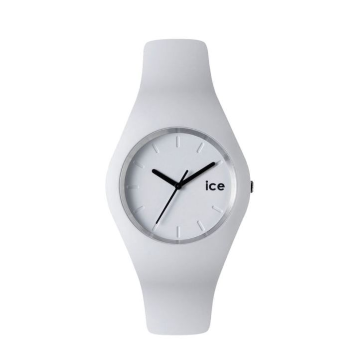 montre ice watch unisex collection ice blanche blanc achat vente montre cdiscount. Black Bedroom Furniture Sets. Home Design Ideas