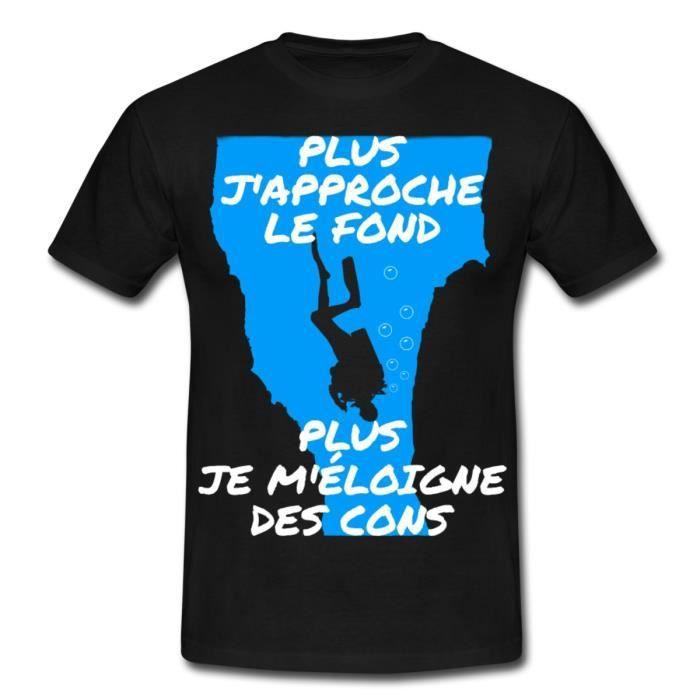 Citation Plongée Sous Marine Humour T Shirt Homme De