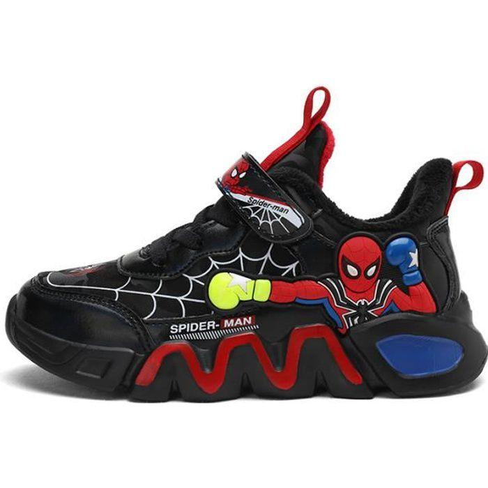 Spiderman Chaussures Enfant Basket Garçon été Respirant loisirs ...