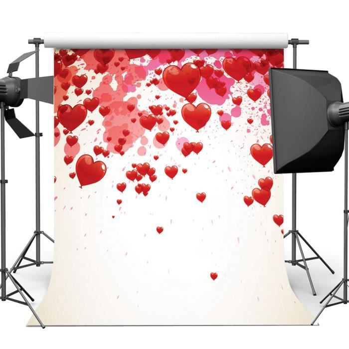fond studio photo vinyl 240x240cm amour coeur photographie toile de mariage achat vente fond. Black Bedroom Furniture Sets. Home Design Ideas