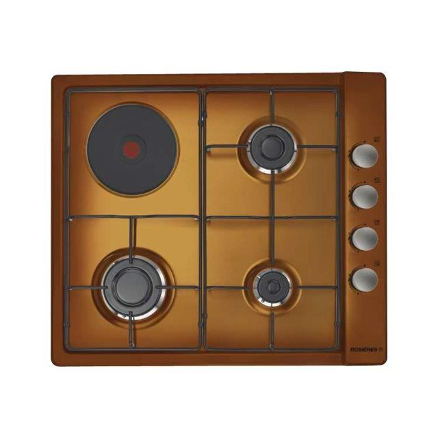 PLAQUE MIXTE Rosieres - plaque de cuisson mixte 58cm 4 feux mar
