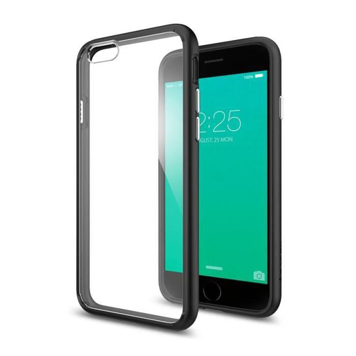spigen coque ultra hybrid noire pour apple iphone