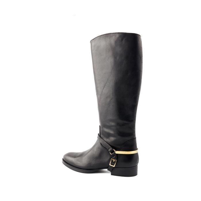 Bottes Hampshire Anilina Black