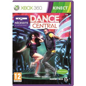 JEUX XBOX Dance Central Kinect XBOX 360
