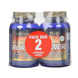 VICTORY Fat burner 2 x 120 gélules Pack Duo