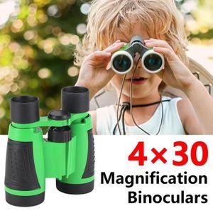 MagiDeal Jumelles Jouet Enfants Binoculaire Color/é avec Sangle Sac de Rangement Accessoire pour Randonn/ée Camping Enfants Cadeau Jeu Educatif