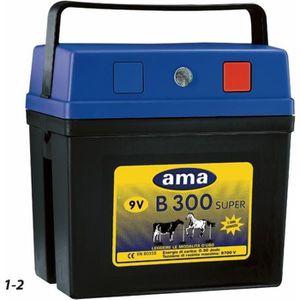 CLÔTURE ÉLECTRIQUE Électrificateur AMA pour clôtures 0,3 J 9 V- maxi