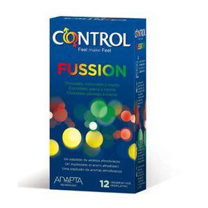 PRÉSERVATIF Préservatifs Fussion 12 unités - CONTROL