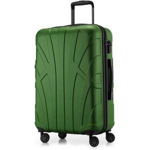 Valise de Taille Moyenne Bagages Rigide 66 cm SUITLINE Turquoise 68 Liter