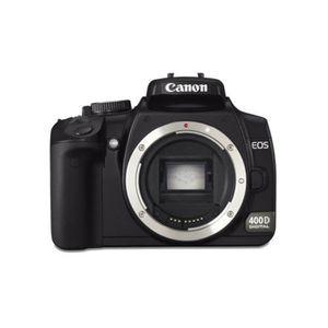 APPAREIL PHOTO RÉFLEX Canon EOS 400D (Boîtier Nu) Appareil photo reflex