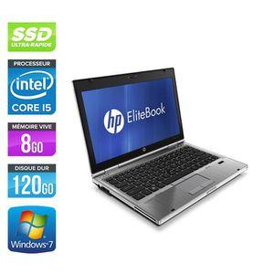 ORDINATEUR PORTABLE Pc portable HP EliteBook 2560P - i5 - 8 Go - 120 G