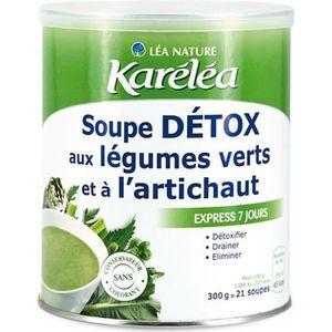 SOUPE KARELEA Soupe détox aux légumes verts et à l'artic
