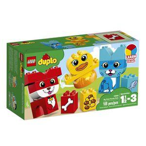 ASSEMBLAGE CONSTRUCTION Lego Duplo Mon premier Puzzle Animaux Building Blo