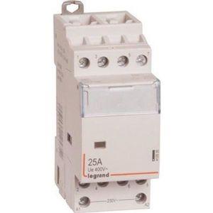 COMPOSANT TABLEAU Contacteur de puissance 230V 4 contacts 25A 4F leg